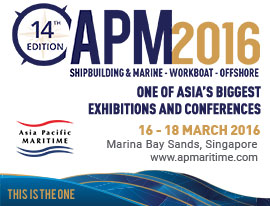 BIO-SEA was at Asia Pacific Maritime (APM) exhibition with its