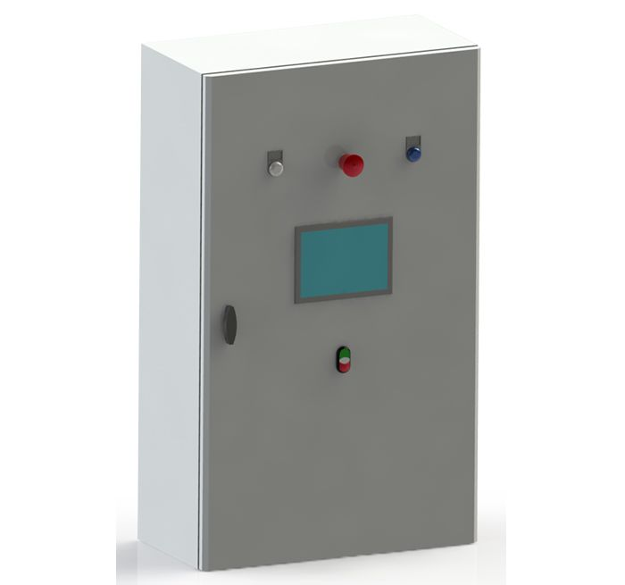 cabinet control for automated operations of ballast water treatment